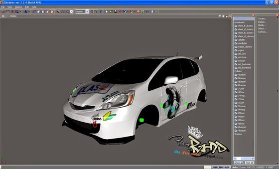 Скриншот программы zmodeler