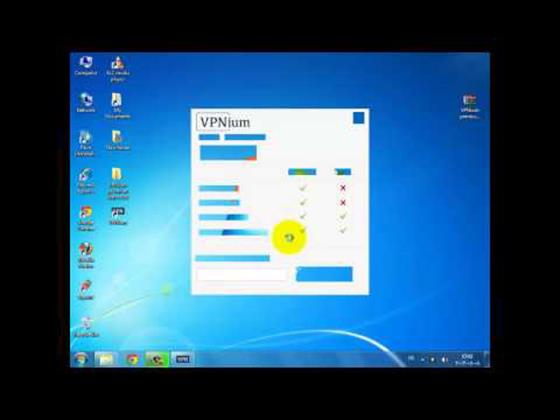 Скриншот программы vpnium