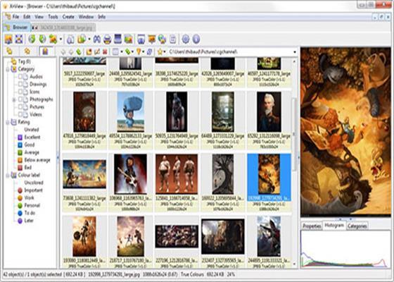 Скриншот программы xnview extended