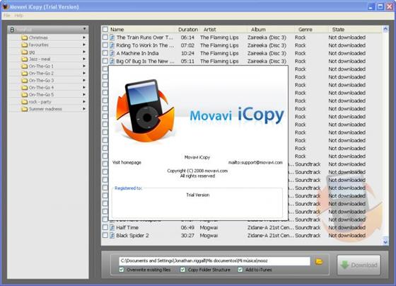 Скриншот программы icopy