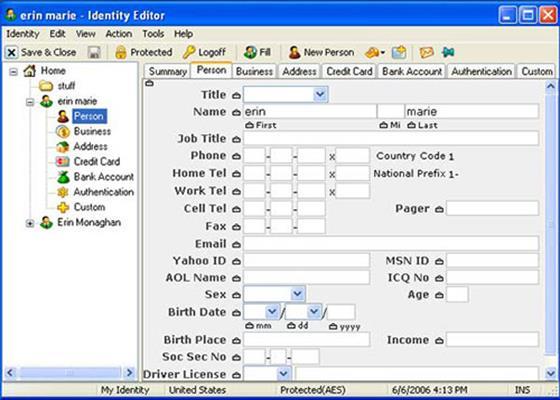 Скриншот программы roboform