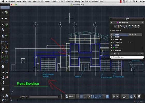Скриншот программы autocad для windows 7