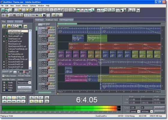 Скриншот программы cool edit pro