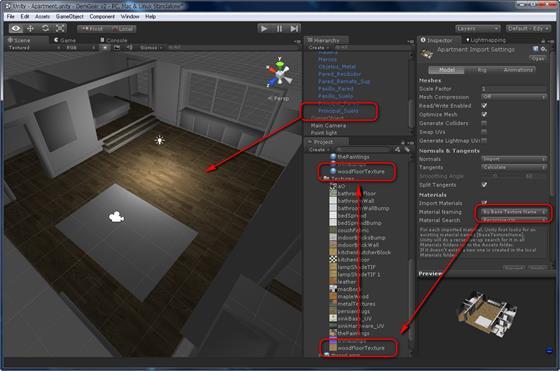 Скриншот программы unity 3d