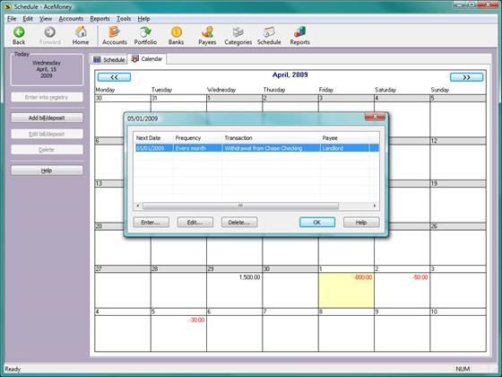 Скриншот программы acemoney