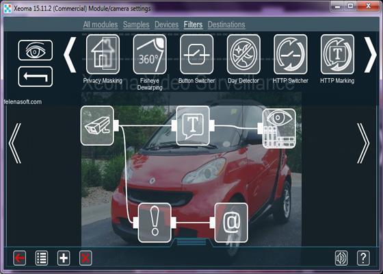 Скриншот программы xeoma