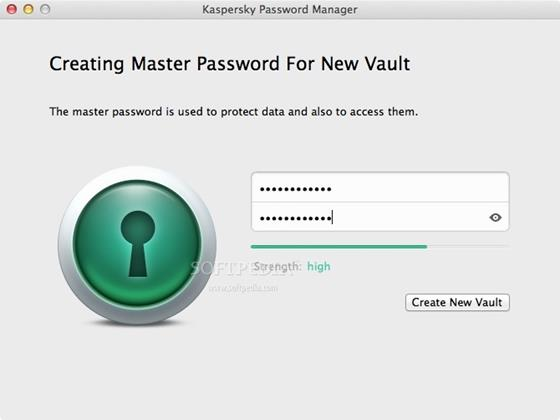 Скриншот программы kaspersky password manager