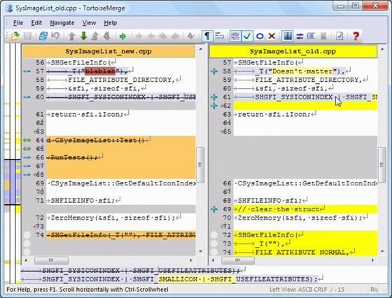 Скриншот программы tortoisesvn