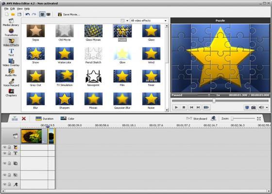 Скриншот программы avs video editor