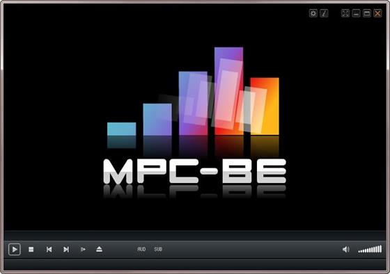 Скриншот программы mpc-be