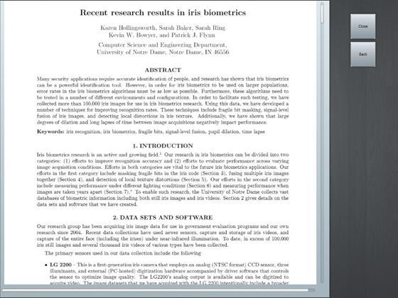 Скриншот программы doc viewer