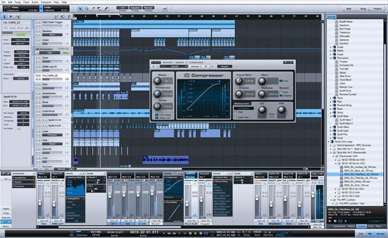 Скриншот программы studio one