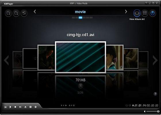 Скриншот программы kmplayer 3.9