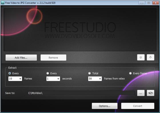 Скриншот программы free mp4 video converter