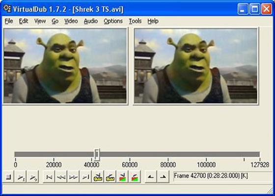 Скриншот программы virtualdubmod 1.5.10.3