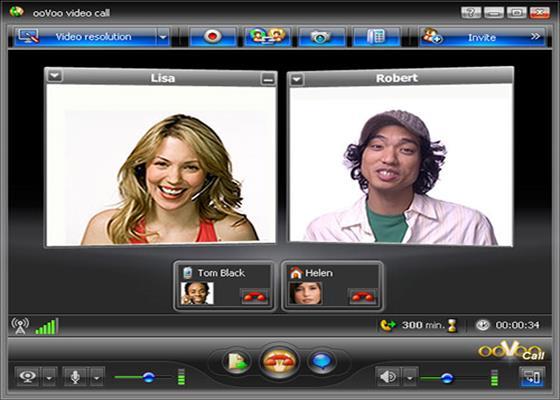 Скриншот программы oovoo