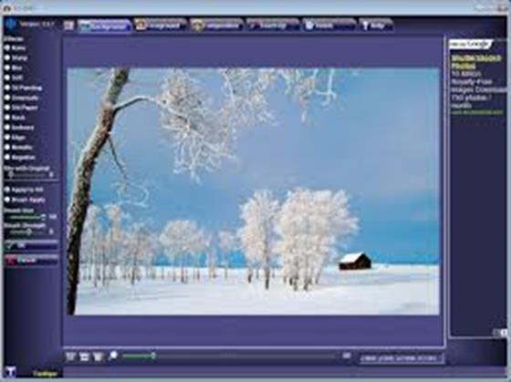 Скриншот программы fotomix