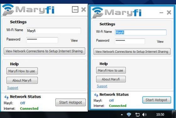 Скриншот программы maryfi