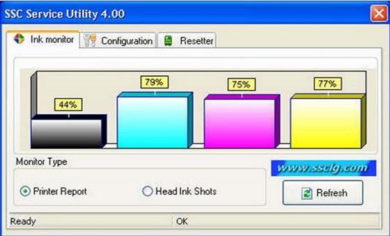 Скриншот программы ssc service utility