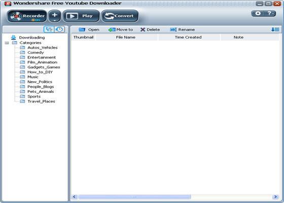 Скриншот программы wondershare flv downloader pro