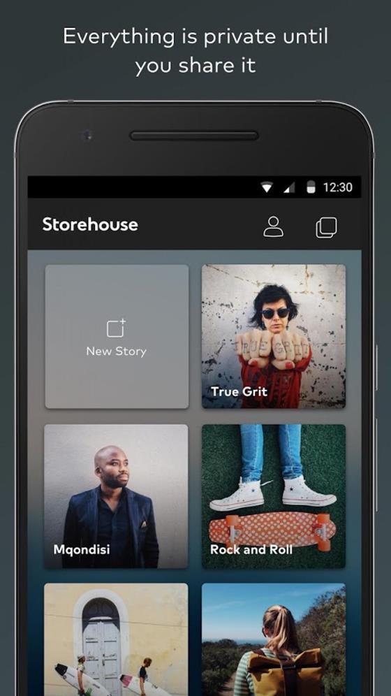 Скриншот программы storehouse