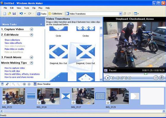 Скриншот программы windows movie maker для windows 7