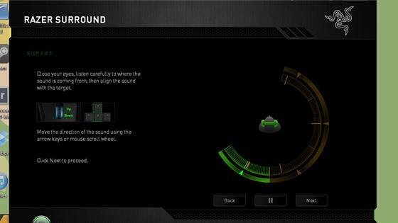 Скриншот программы razer surround