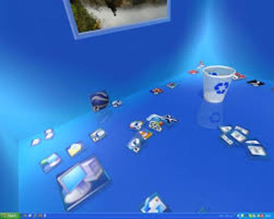 Скриншот программы real desktop