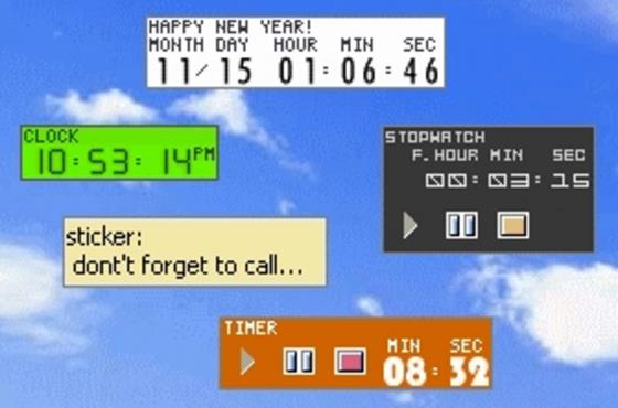 Скриншот программы timeleft