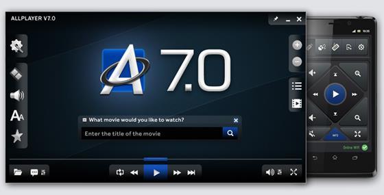 Скриншот программы allplayer
