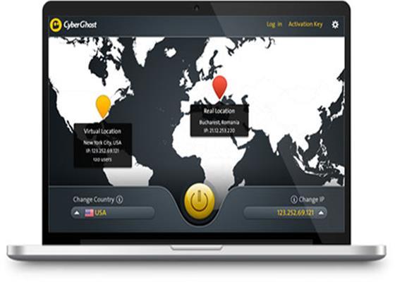 Скриншот программы cyberghost 5