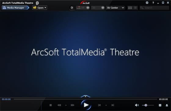 Скриншот программы arcsoft totalmedia theatre