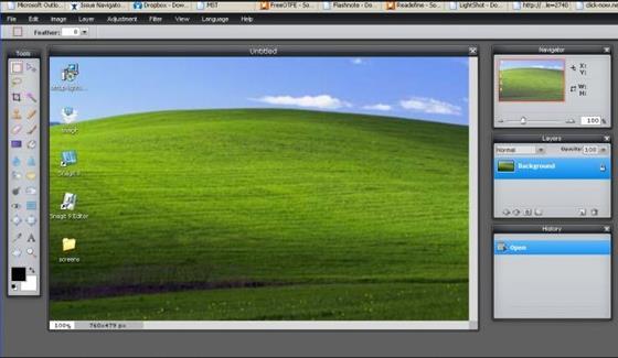 Скриншот программы lightshot