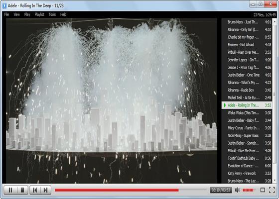 Скриншот программы mp4 player
