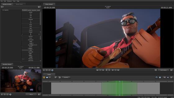 Скриншот программы source filmmaker