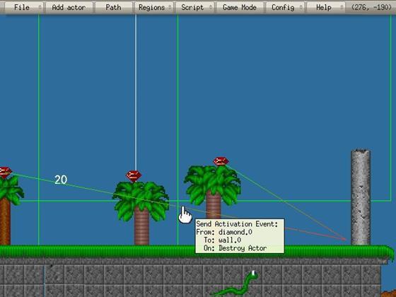 Скриншот программы game editor