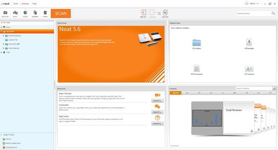 Скриншот программы neat image