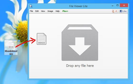 Скриншот программы file viewer lite