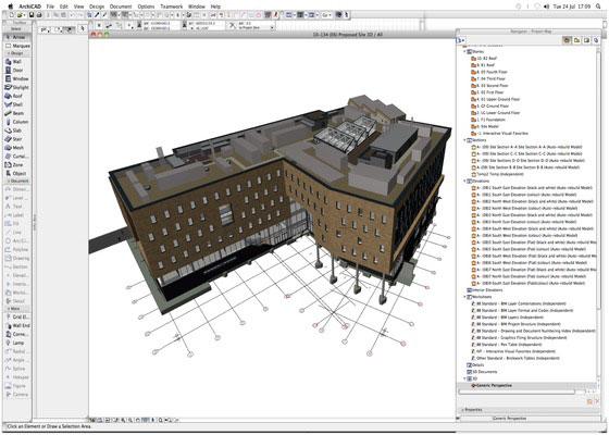 Скриншот программы archicad 18