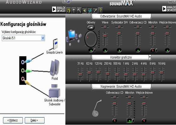 Скриншот программы soundmax