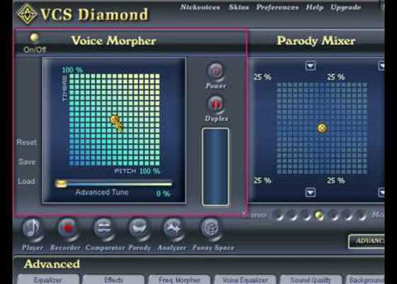 Скриншот программы av voice changer software