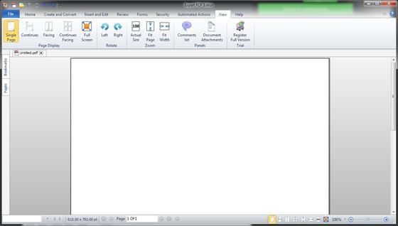 Скриншот программы expert pdf editor