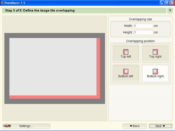 Скриншот программы posterazor