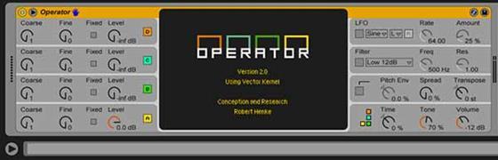Скриншот программы operator