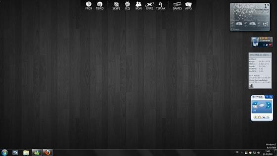 Скриншот программы rocketdock