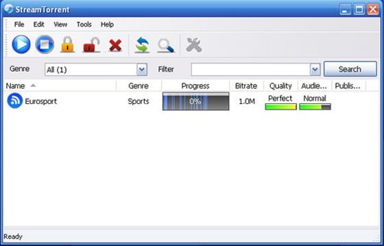 Скриншот программы stream torrent