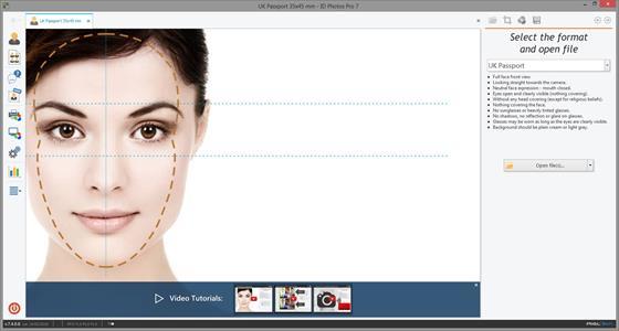 Скриншот программы idphotostudio