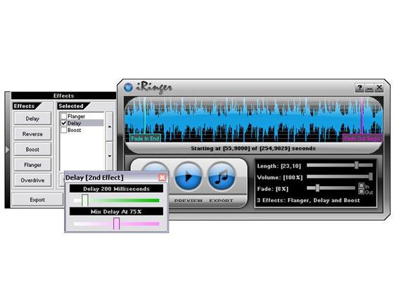 Скриншот программы iringer