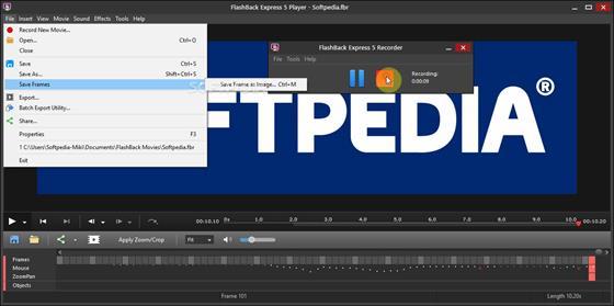 Скриншот программы bb flashback express
