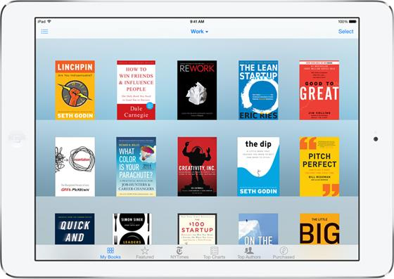 Скриншот программы ibooks